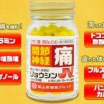 関節痛【市販薬】比較おすすめ【医薬品】ランキング